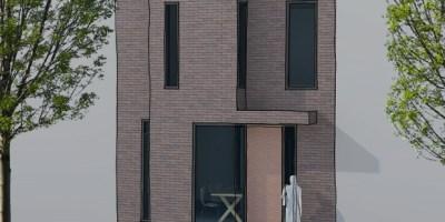 Coendersbuurt B kavel architect schets