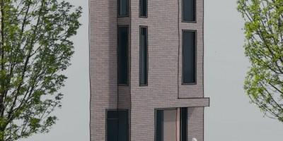 Coendersbuurt kavel architect schetsontwerp