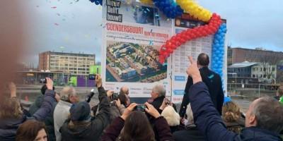 Start bouw coendersbuurt Delft