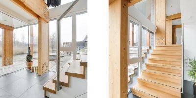 kavel architect moderne woning villa interieur