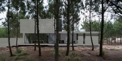 Aan de kreek almere duin kavel architect modern villa bosvilla impressie