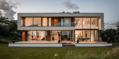 architect moderne villa woning nieuwbouw kavel bouwgrond luxe