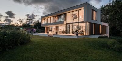 architect moderne villa woning nieuwbouw kavel bouwgrond gooi krijgsman de erven muiden