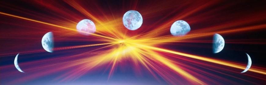 Die Phasen des Mondes