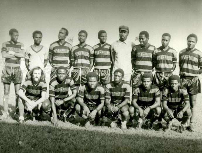 V. Club vor dem Cup-Halbfinal 1977