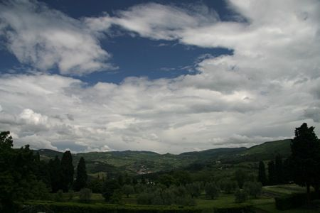 View from Fiesole, Italy