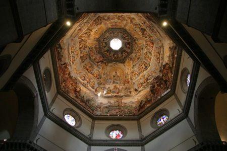 Inside Florence Duomo, Italy