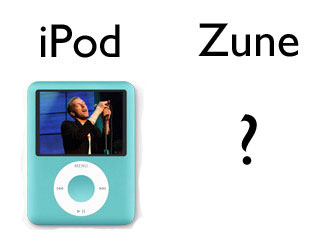 iPod vs Zune