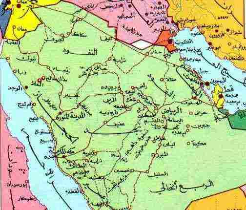 خريطة السعودية التفصيلية كاملة وأهمية التعرف على المدن السعودية زيادة