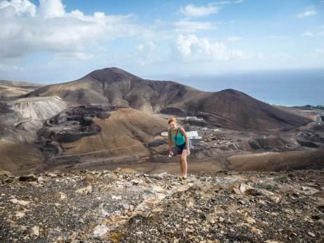 Fuertaventura wspinaczkaFuertaventura wspinaczka