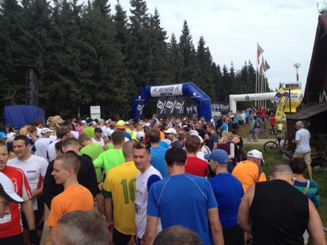 Letni Bieg Piastow przed biegiem