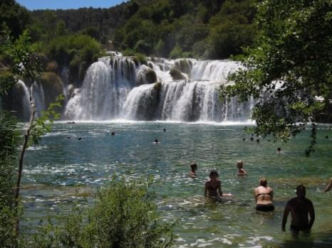 Krka wodospad Chorwacja