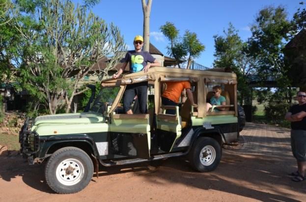 Jeep Safari w Kenii