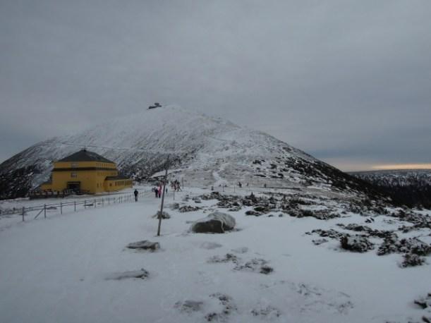 Widok na Śnieżkę
