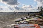 Windsurtferzy i kitesurferzy Zatoka Pucka