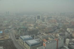 Panorama Berlina z wieży telewizyjnej