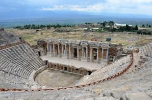 Hierapolis amfiteatr Turcja