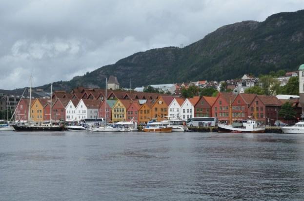 Bergen Bryggen Norwegia