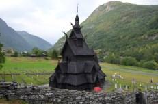 Stavkirke w Borgund Norwegia