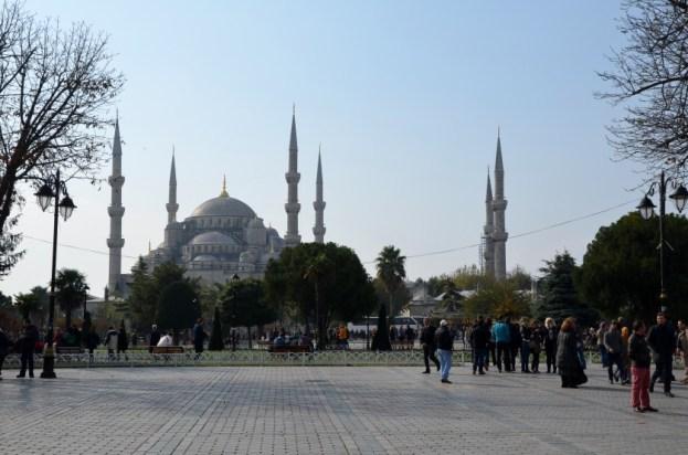 Błękitny Meczet w Stambule Turcja