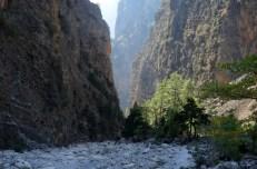 Najlepszy fragment wąwóz Samaria Kreta