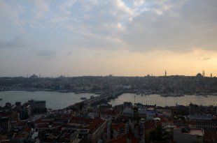 Panorama z Wieży Galata Stambuł Turcja