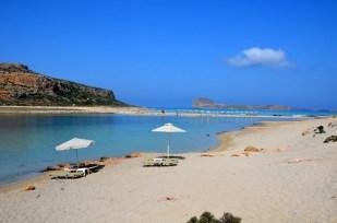 Plaża Balos i widok na wyspę Gramvousa Kreta