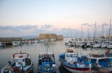 Port w Heraklionie Kreta