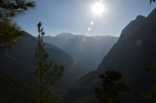 Zejście wąwóz Samaria Kreta