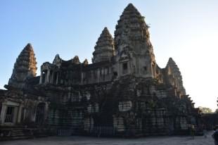 Angkor Wat z bliska Kambodża