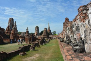 Ayutthaya Wat Mahathat Tajlandia