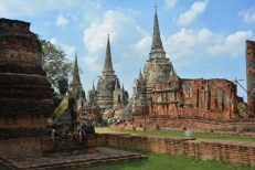 Ayutthaya Wat Phra Si Sanphet Tajlandia