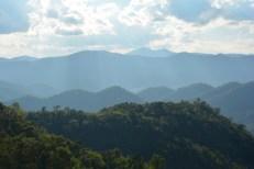 Chiang Mai trekking widoki Tajlandia