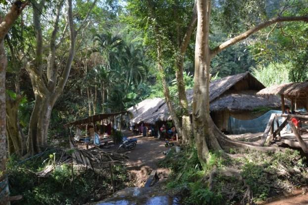 Chiang Mai wioska Karen Tajlandia