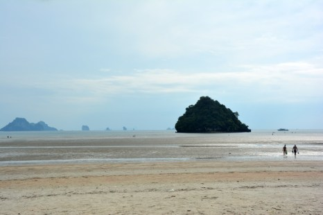 Phi Phi po wycieczce odpływ w Ao Nang Tajlandia