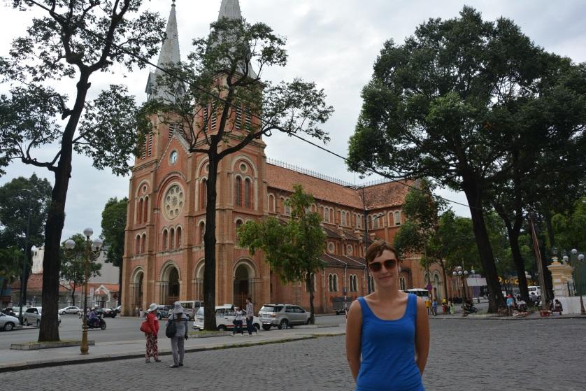 Sajgon katedra Notre Dame Wietnam