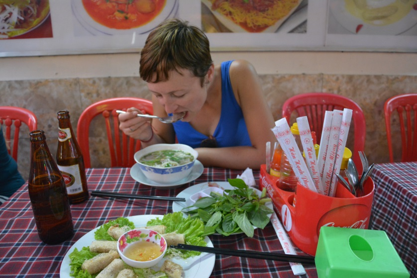 Sajgon w restauracji Wietnam