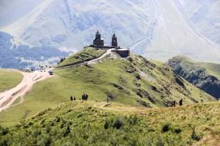 Dalszy trekking pod Kazbek Gruzja