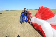 Po skoku spadochronowym