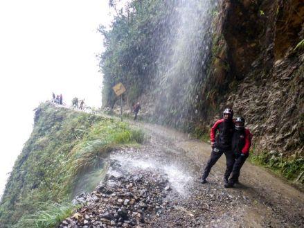 Droga Śmierci La Paz Boliwia 11