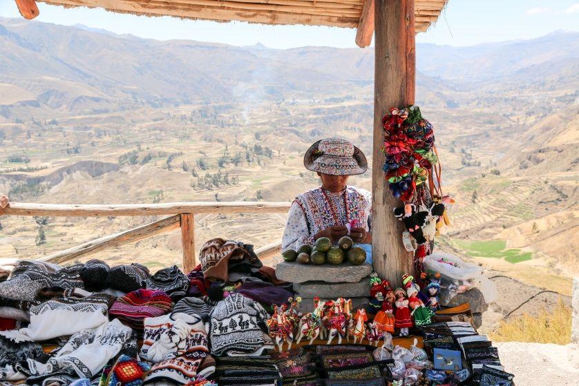 Góralka Kanion Colca Peru