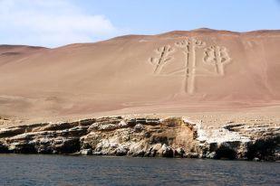 Kandalabr Paracas Peru
