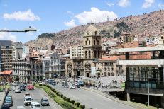 Kościół San Francisco La Paz Boliwia