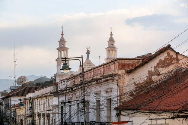 Kościoły Sucre Boliwia