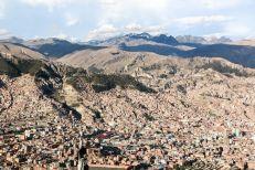 Panorama La Paz Boliwia