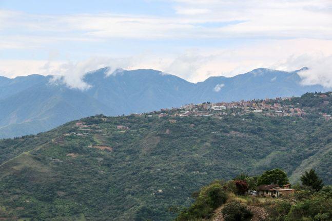 Pogórze Yungas Coroico Boliwia