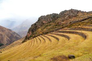 Ruiny Inków Pisaq Peru