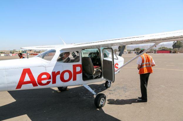 Samolot Nazca Peru