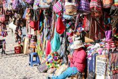 Sklepy w Ollantaytambo Peru