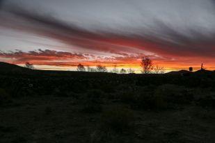 Zachód słońca Salar de Uyuni Boliwia